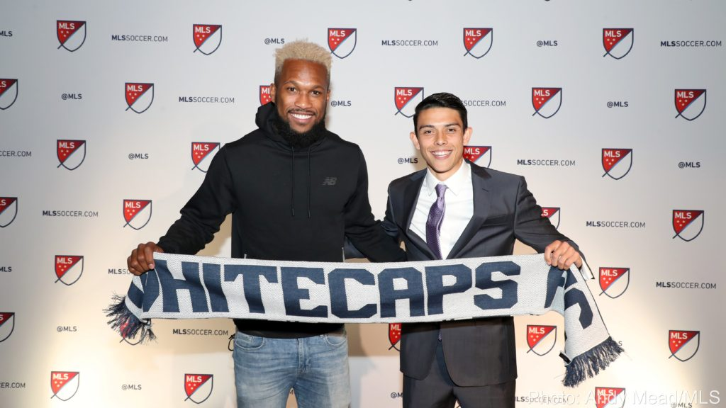 2018 MLS SuperDraft. January 19, 2018. Credit: Andy Mead/MLS.