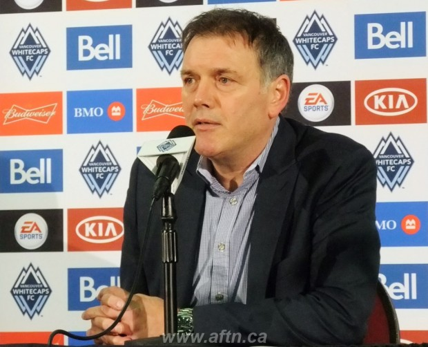 "Whitecaps' Bobby Lenarduzzi: ""We want to be known as a club that develops it's own players"""