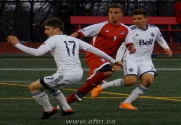 "B.C. boy Jovan Blagojevic undergoes ""overload of emotions"" following surprise draft selection by Vancouver Whitecaps"