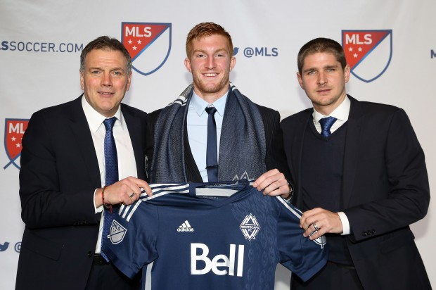 """Whitecaps draft pick Tim Parker happy to be with team that """"instils faith"""" in younger players"""