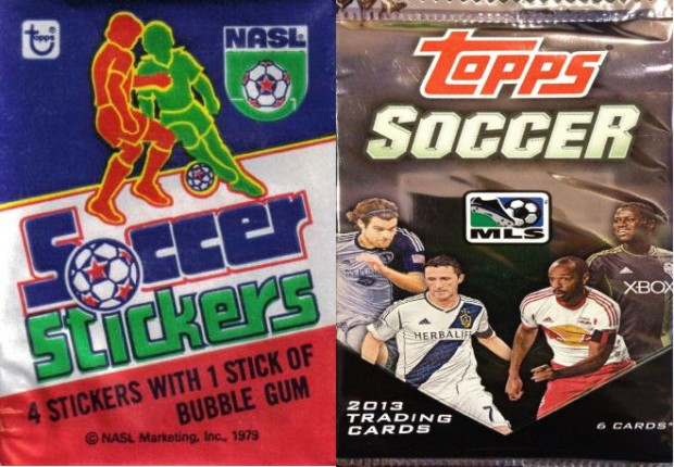Found In The Attic: #4 – Topps Soccer Cards