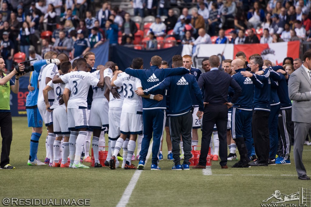 Vancouver v Portland - The March Story In Pictures  (2)