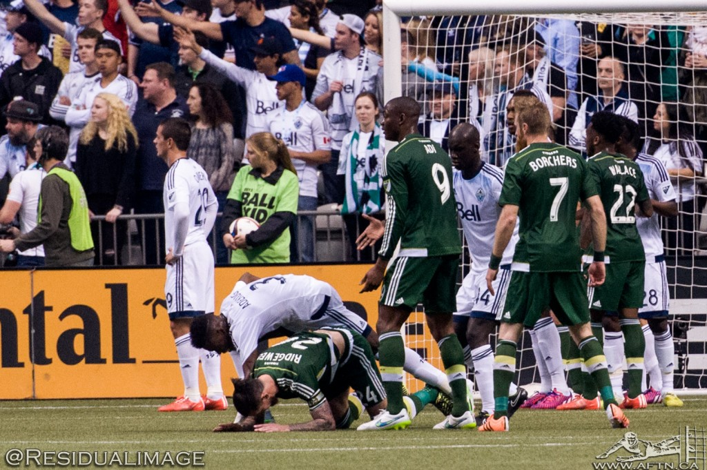 Vancouver v Portland - The March Story In Pictures  (9)