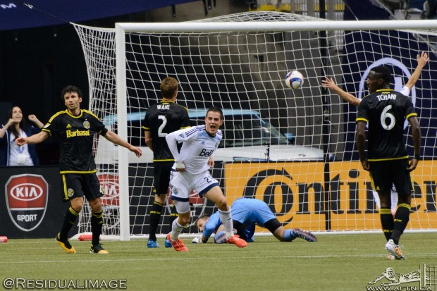 Report and Reaction:  Whitecaps have to dig deep to comeback for share of spoils with Crew