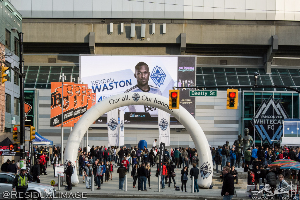 Vancouver Whitecaps v LA Galaxy - The Story In Pictures (01)