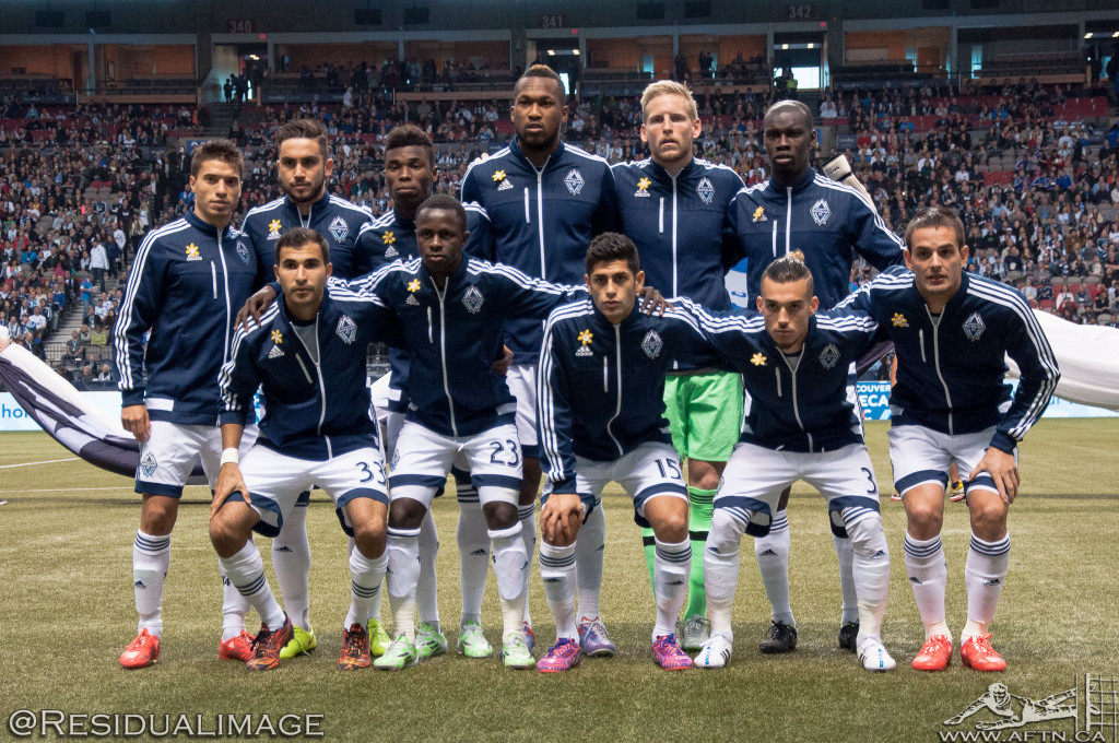 Vancouver Whitecaps v LA Galaxy - The Story In Pictures (03)