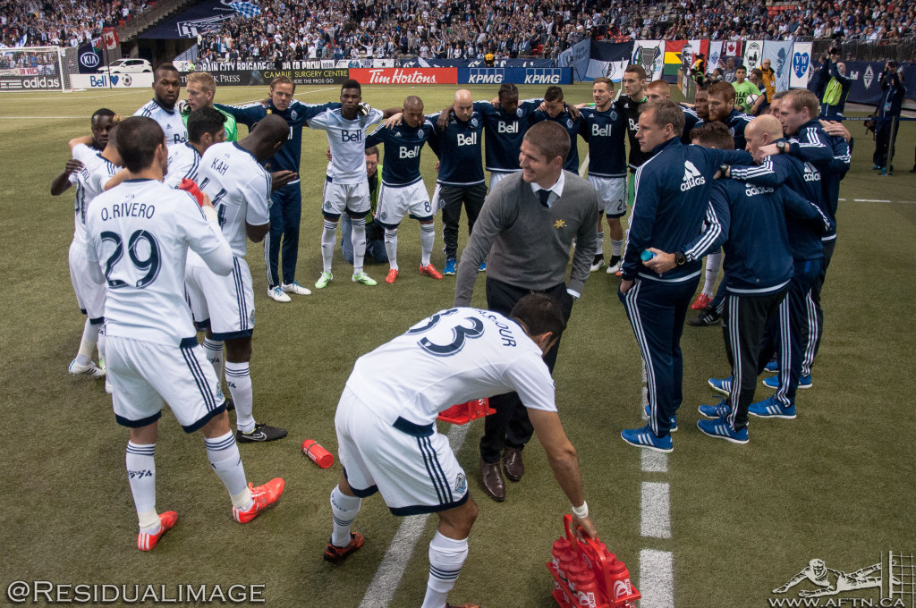 Vancouver Whitecaps v LA Galaxy - The Story In Pictures (04)
