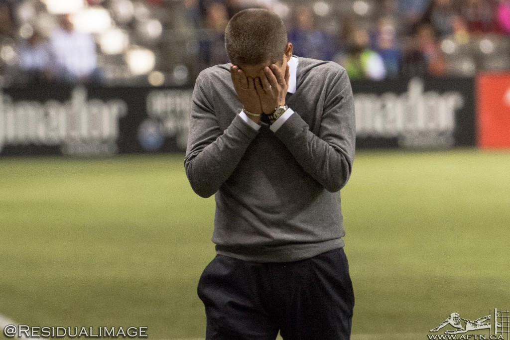 Vancouver Whitecaps v LA Galaxy - The Story In Pictures (09)