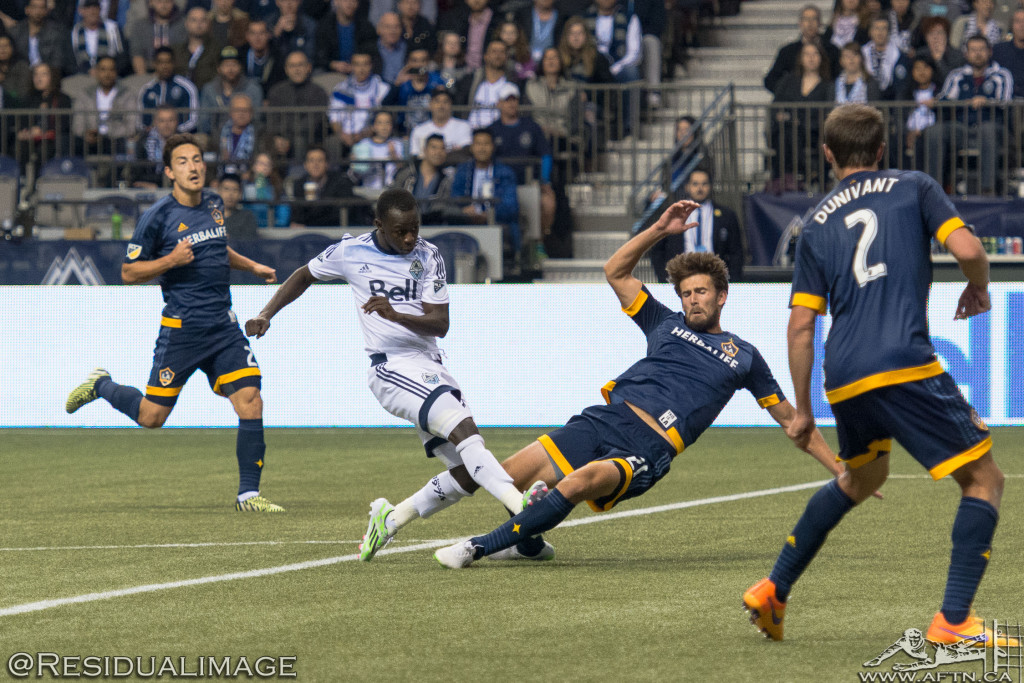 Vancouver Whitecaps v LA Galaxy - The Story In Pictures (10)