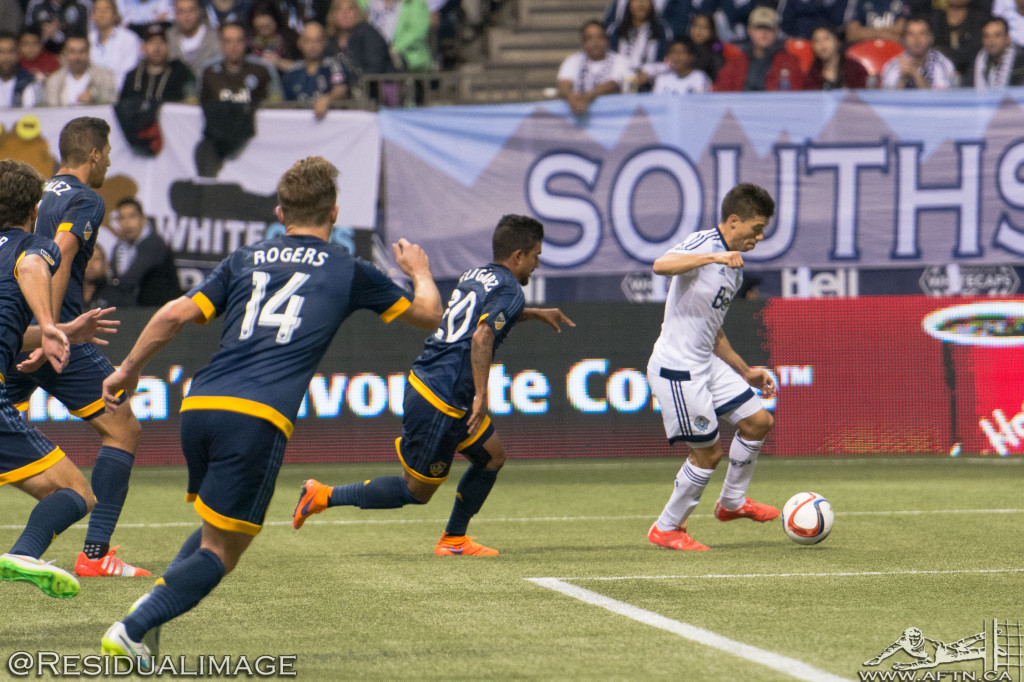 Vancouver Whitecaps v LA Galaxy - The Story In Pictures (13)