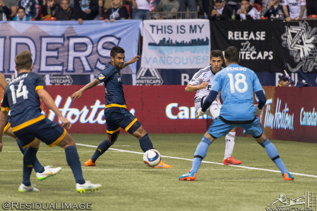 Vancouver Whitecaps v LA Galaxy - The Story In Pictures (14)