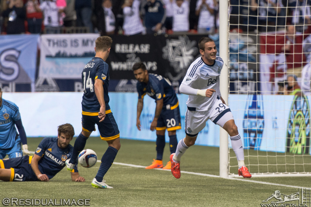 Vancouver Whitecaps v LA Galaxy - The Story In Pictures (15)