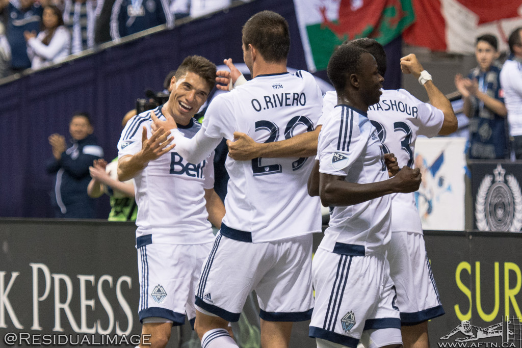 Vancouver Whitecaps v LA Galaxy - The Story In Pictures (17)