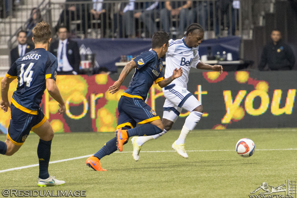 Vancouver Whitecaps v LA Galaxy - The Story In Pictures (18)