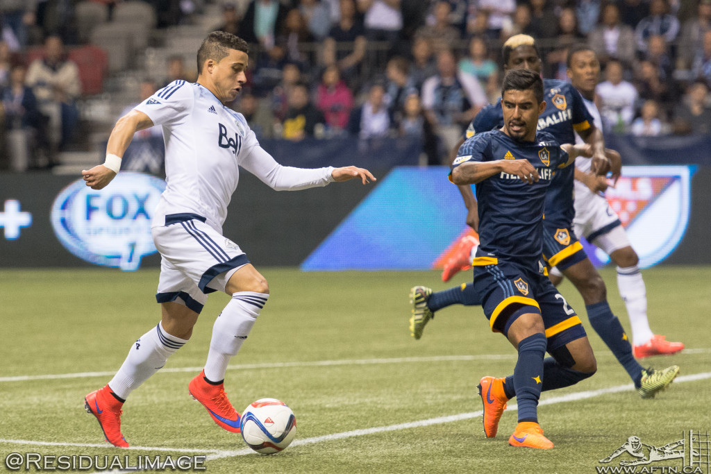 Vancouver Whitecaps v LA Galaxy - The Story In Pictures (19)