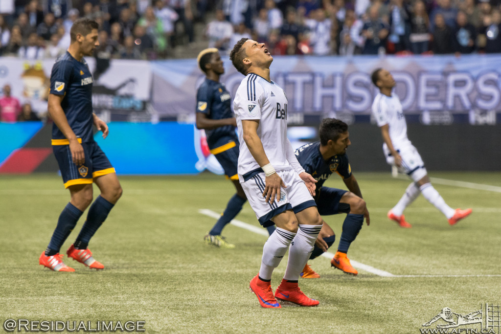 Vancouver Whitecaps v LA Galaxy - The Story In Pictures (20)