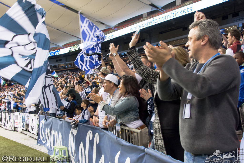 Vancouver Whitecaps v LA Galaxy - The Story In Pictures (21)