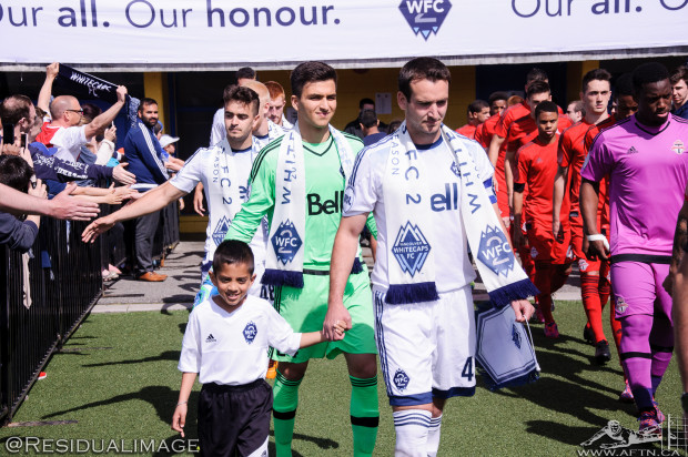 WFC2 v TFC II  – The Story In Pictures Of The Whitecaps' USL Home Opener