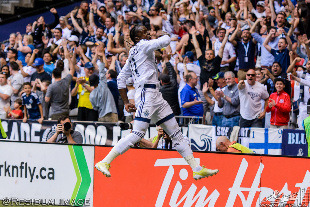 Vancouver Whitecaps v Philadelphia Union - The Story In Pictures (101)