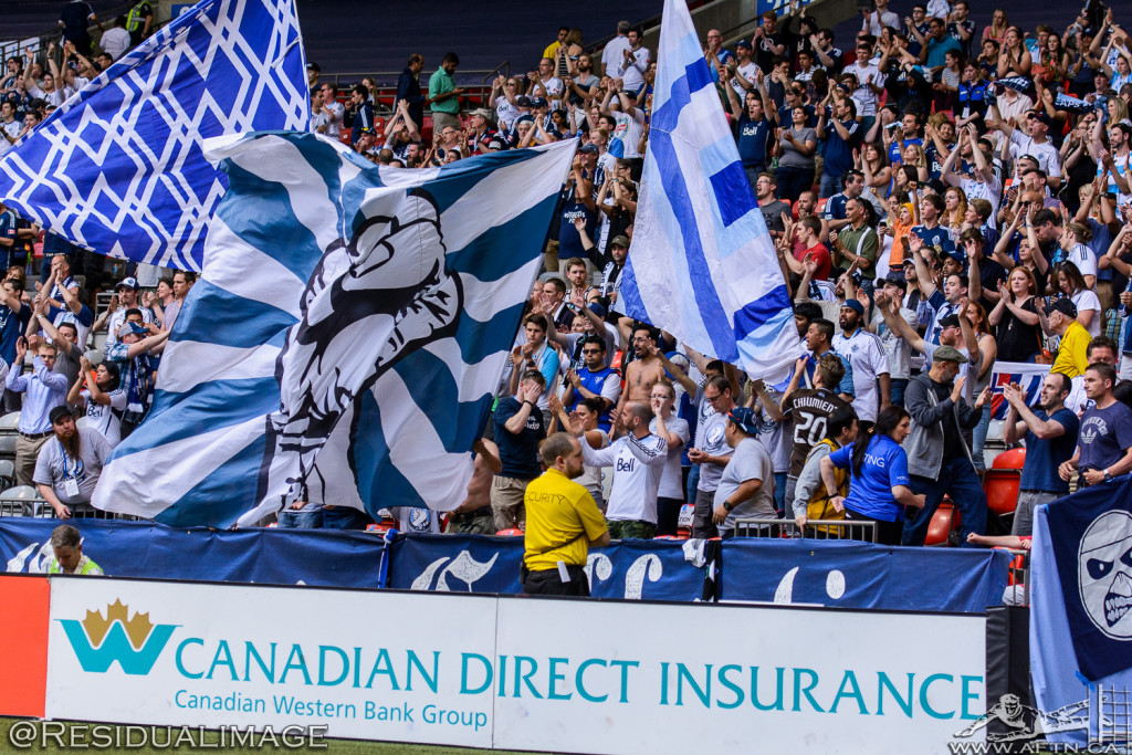 Vancouver Whitecaps v Philadelphia Union - The Story In Pictures (115)