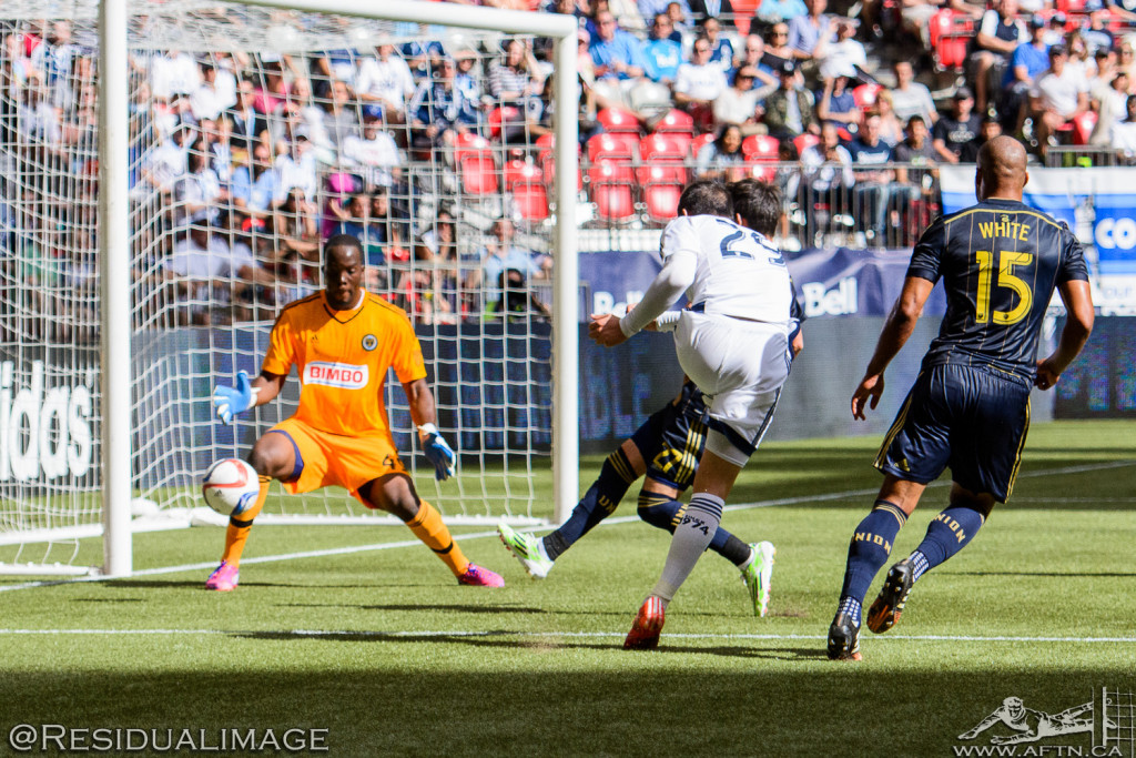 Vancouver Whitecaps v Philadelphia Union - The Story In Pictures (47)