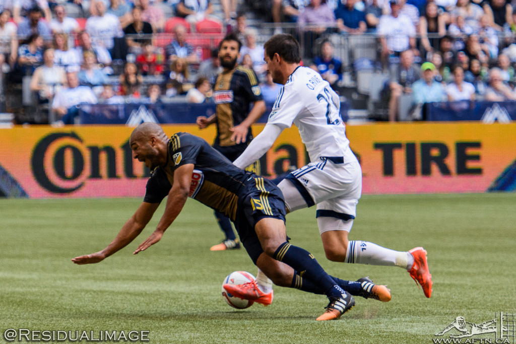 Vancouver Whitecaps v Philadelphia Union - The Story In Pictures (68)
