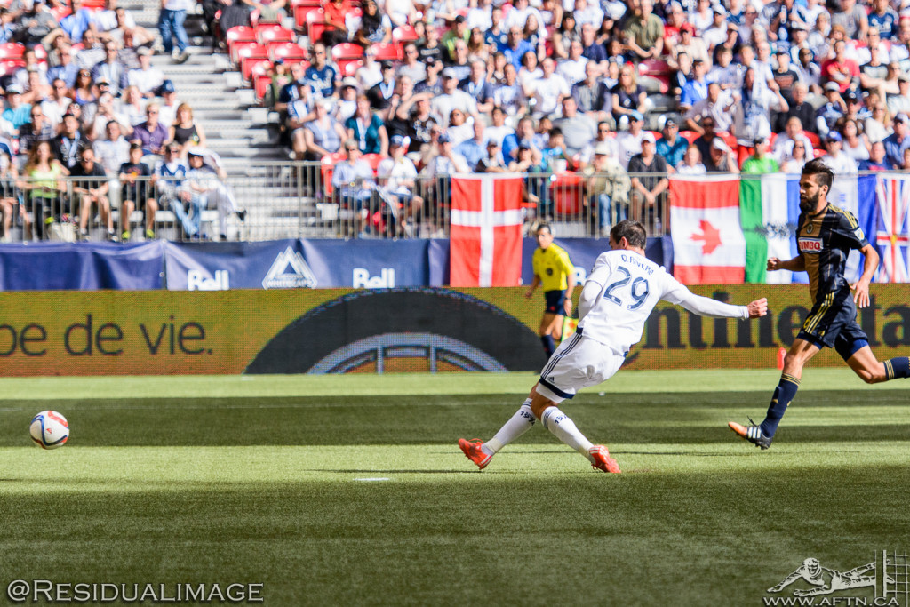 Vancouver Whitecaps v Philadelphia Union - The Story In Pictures (70)