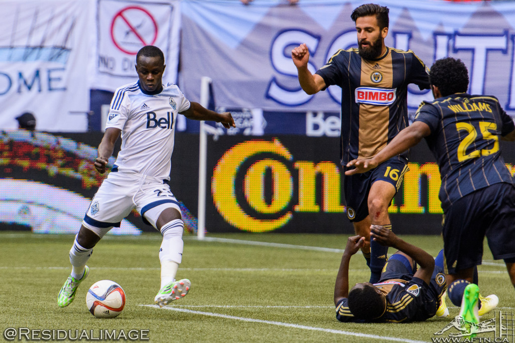 Vancouver Whitecaps v Philadelphia Union - The Story In Pictures (77)