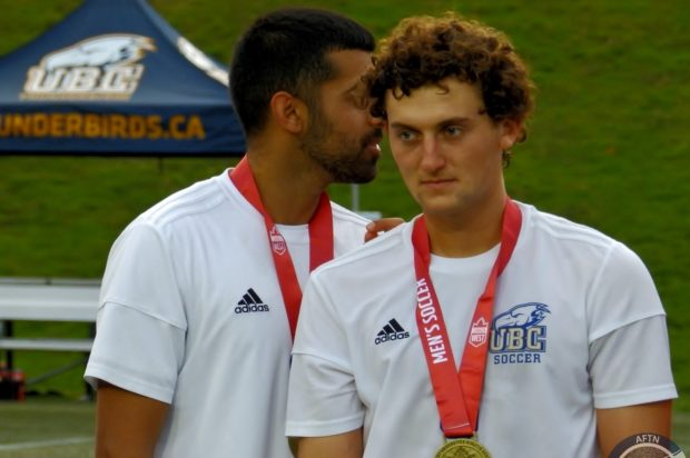 """UBC captain Connor Guilherme solely """"focusing on getting a national championship"""" before any thoughts turn to turning pro"""