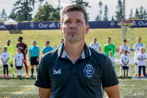 Alan Koch drawing on SFU playoff experiences as he prepares WFC2 for USL Western Conference final