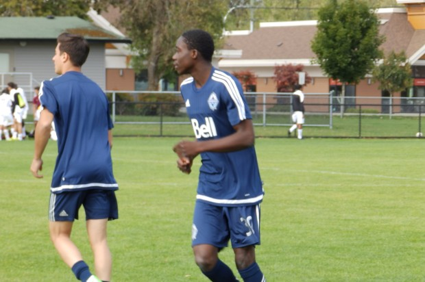 """After making first team debut, """"tough decision"""" to uproot reaping dividends for 15-year-old Vancouver Whitecaps striker Alphonso Davies"""