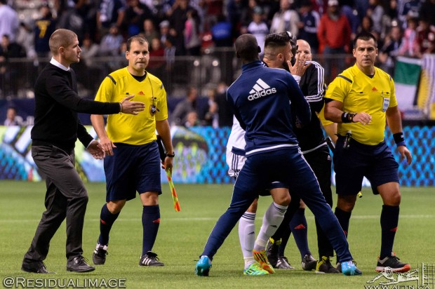 Report and Reaction: Whitecaps anger at controversial ending but they only have themselves to blame in loss to NYC