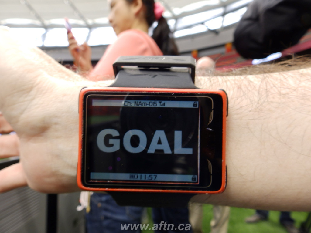 Goal-line technology watch