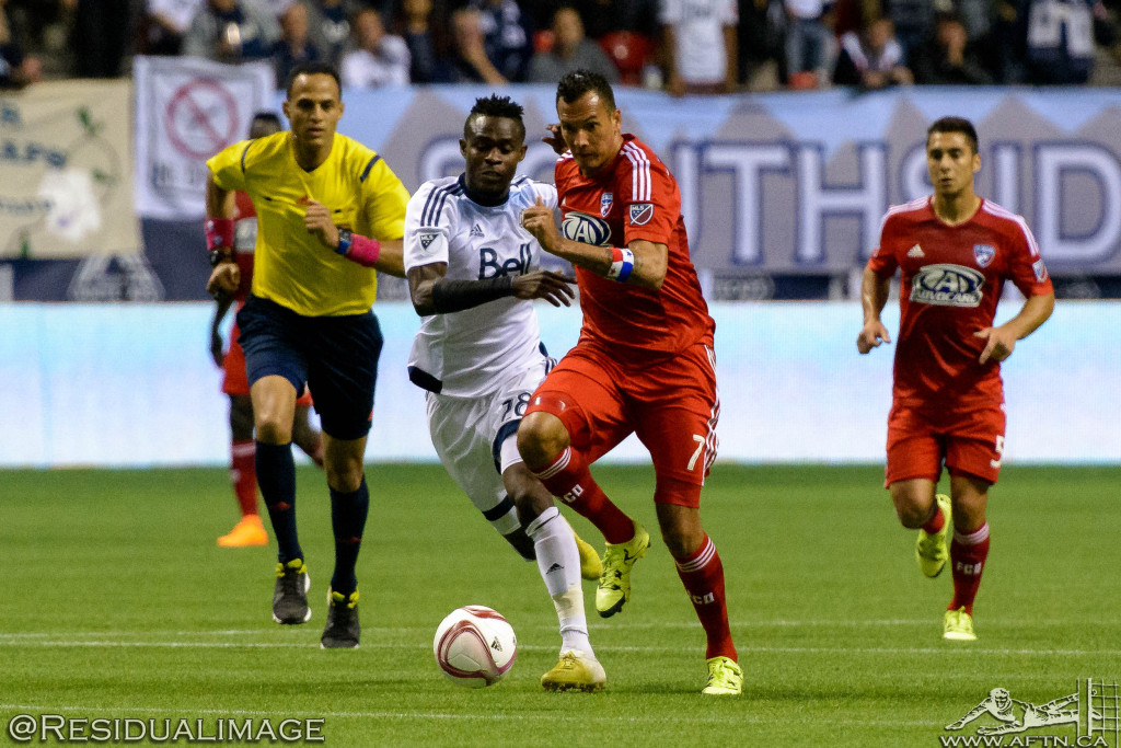 Vancouver Whitecaps FC versus FC Dallas, October 7 2015.