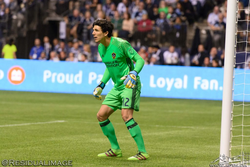 Brian Rowe LA Galaxy MLS 2016