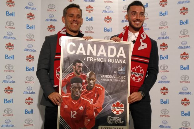"Vancouver back as Canadian men's national team home for ""bloody big match"" against French Guiana, with more matches set to follow"
