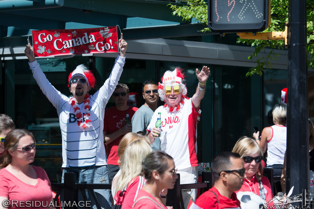 Canada v Switzerland - The Story In Pictures (3)
