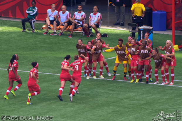 Canada v Switzerland – A Women's World Cup Story In Pictures