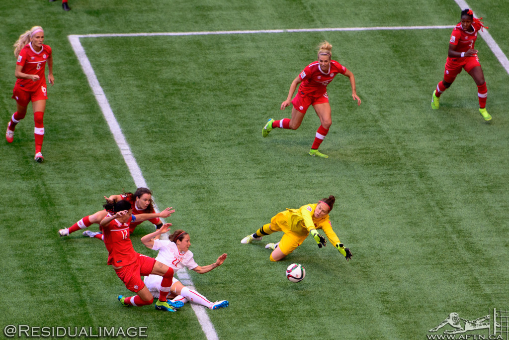 Canada v Switzerland - The Story In Pictures (86)
