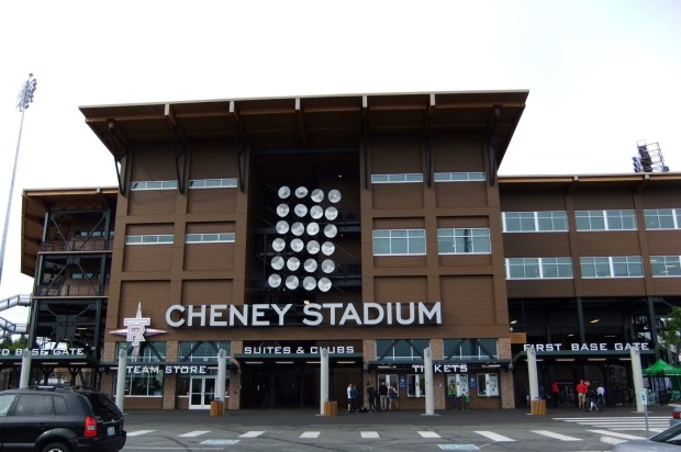 Groundhopping: Cheney Stadium, Tacoma (Washington State, USA)