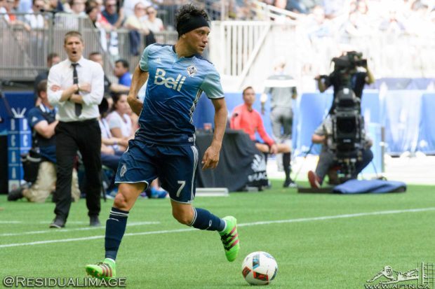 Christian Bolaños glad to be back with Whitecaps but hoping Costa Rica's Copa America experience will help them reach another World Cup