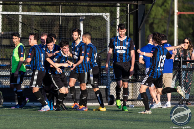 Strikers and Lupi see off VISL and Burnaby champs to set up an all-VMSL B Cup final (with video highlights)