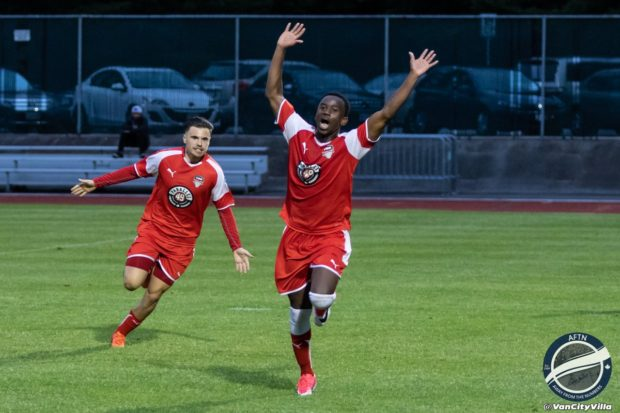 Daniel at the double: Sagno brace moves TSS Rovers into share of top spot after victory over Calgary Foothills (with video)