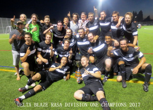 RASA Round-up: Delta Blaze are crowned 2017 RASA Summer League Division One champions
