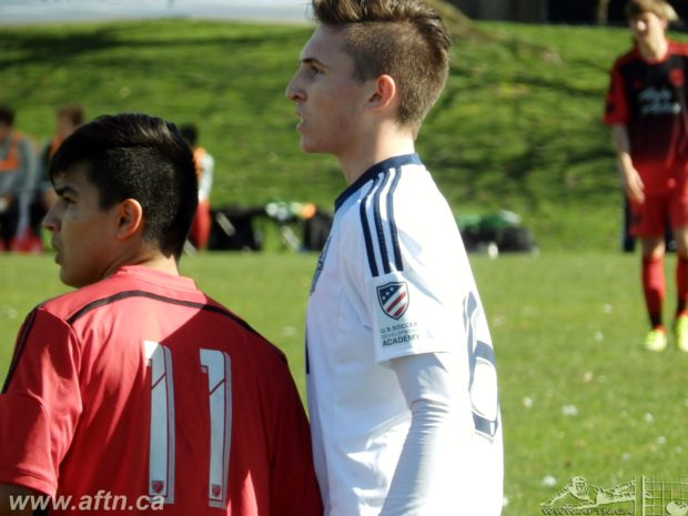 Ten Count with Vancouver Whitecaps U18 player Eric de Graaf