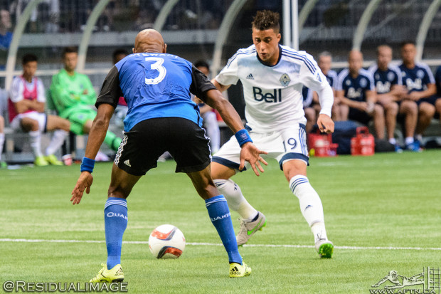 Erik the Viking glad to be back in Vancouver for preseason but will he remain a Whitecap?