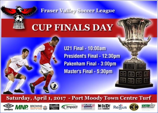 FVSL round-up: Fraser Valley Soccer League Cup Final Day 2017