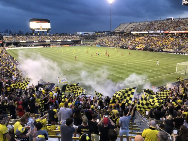 Groundhopping to Columbus: A dart to the heart