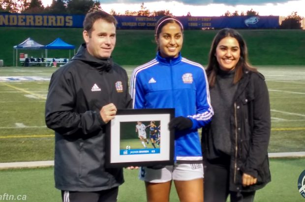 On Point: Jasmin Dhanda writes herself into UBC Thunderbirds and Canada West history