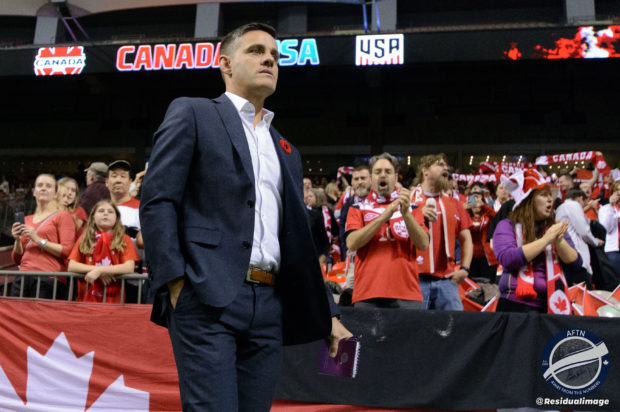 Stunned Canadian women's national team players give heartfelt thanks to John Herdman after his shock move to the men's side of the program